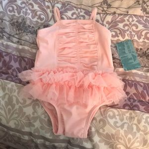 Old Navy tutu bathing suit 3-6months